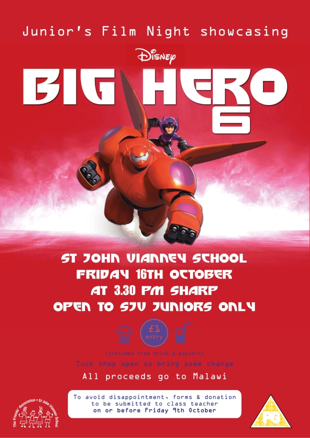 Junior's Film Night Poster