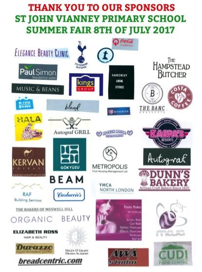 SJV Fair sponsors